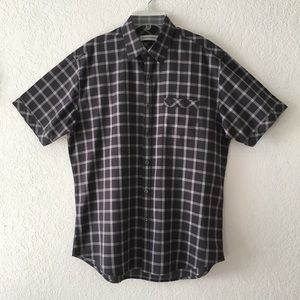 James Campbell Plaid Short Sleeve Shirt